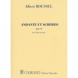 ALBERT ROUSSEL ANDANTE ET SCHERZO OPUS 51 FLUTE TRAVERSIERE