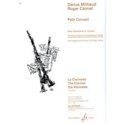DARIUS MILHAUD PETIT CONCERT POUR CLARINETTE