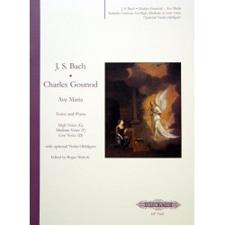 PARTITION GOUNOD AVE MARIA CHANT ET PIANO EP7668