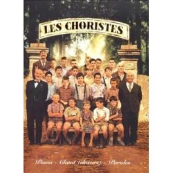 LES CHORISTES PARTITION CHOEUR ET PIANO PB1296