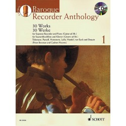BAROQUE RECORDER ANTHOLOGY VOL1 AVIGNON