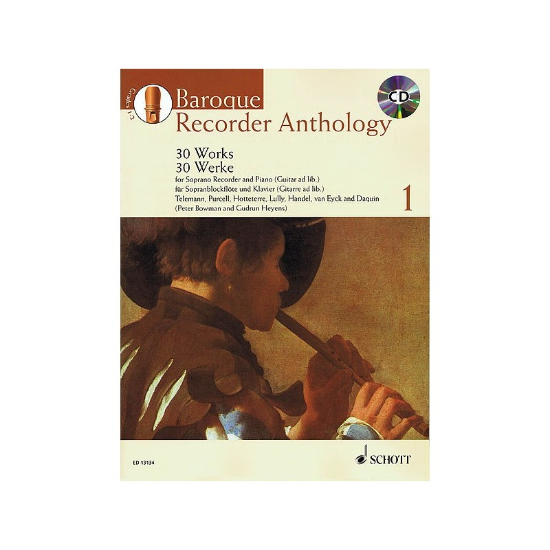 BAROQUE RECORDER ANTHOLOGY VOL1 AVIGNON