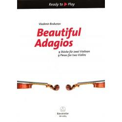 Partition 2 violons - Beautiful Adagios - Le kiosque à musique Avignon
