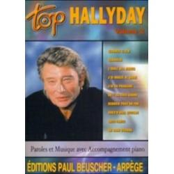PARTITION HALLYDAY JOHNNY - TOP BEUSCHER VOLUME 2