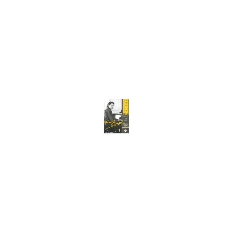 CABREL FRANCIS - SPECIAL PIANO N°6 AVEC CD
