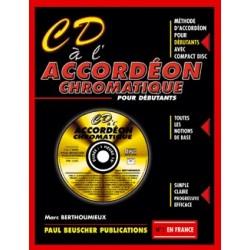 CD A L' ACCORDEON CHROMATIQUE ( AVEC CD )