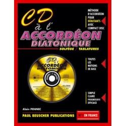 CD A L'ACCORDEON DIATONIQUE - AVEC CD
