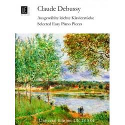 Partition Debussy Selected easy piano pieces UE18584 le kiosque à musique Avignon