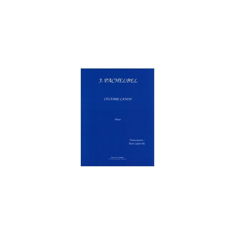 PACHELBEL CANON POUR PIANO  ED.COMBRE P03520