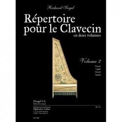 REPERTOIRE POUR LE CLAVECIN volume 2 Avignon