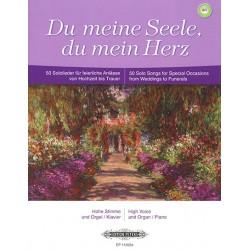 Partition chant Du Meine Seele - Peters - Kiosque à musique Avignon