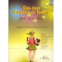 Partition Accordéon Cha-chas, Boléros, tangos - kiosque musique Avignon
