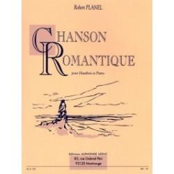 Partition hautbois Robert Planel - Chansons romantique - kiosque musique Avignon