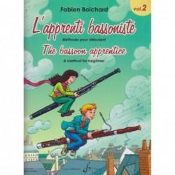 FABIEN BOICHARD L'APPRENTI BASSONISTE VOLUME 2 GB8387B
