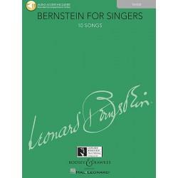 Partition Bernstein for singers Ténor BHL10784 Le kiosque à musique Avignon