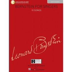 Partition Bernstein for singers Baryton BHL10785 Le kiosque à musique Avignon