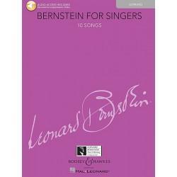 Partition Bernstein for singers Soprano BHL10782 Le kiosque à musique Avignon