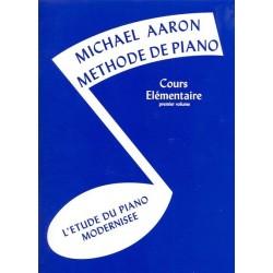 Méthode piano Aaron cours élémentaire MV19 le kiosque à musique Avignon