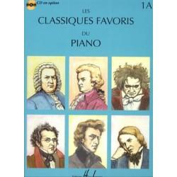 PARTITION PIANO LES CLASSIQUES FAVORIS 1A HLP1013S LE KIOSQUE A MUSIQUE