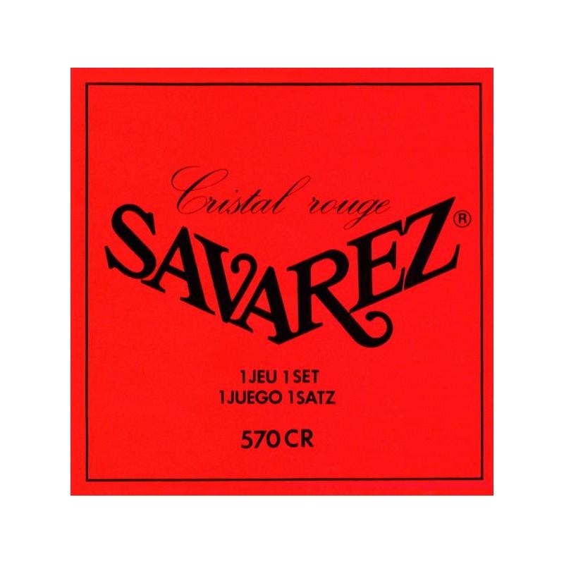 CORDES GUITARE CLASSIQUE SAVAREZ ROUGES