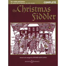 THE CHRISTMAS FIDDLER POUR VIOLON BOOSEY AND HAWKES