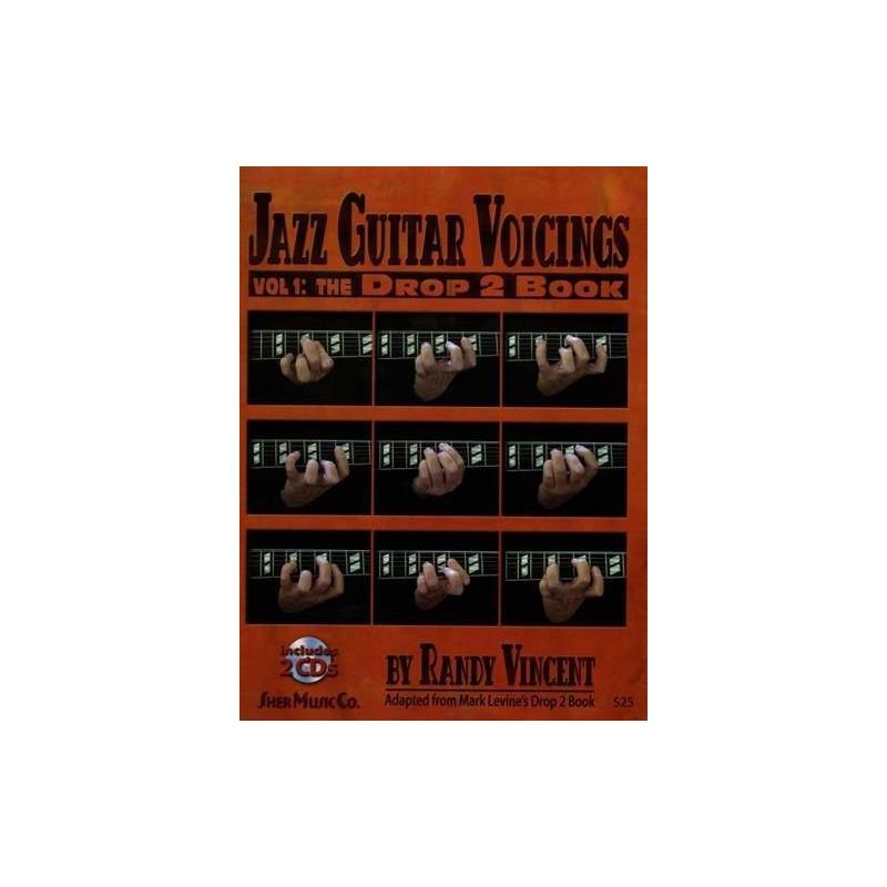 PARTITION RANDY VINCENT JAZZ GUITAR VOICINGS SH177