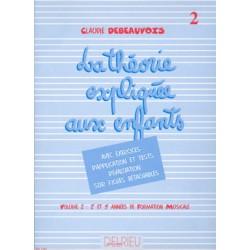 Debeauvois Théorie expliquée aux enfants GD1563 le kiosque à musique Avignon