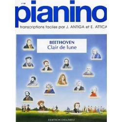 Beethoven Clair de Lune piano facile Pianino 40