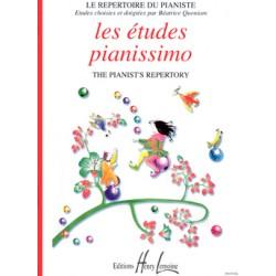 LES ETUDES PIANISSIMO BEATRICE QUONIAM EDITIONS LEMOINE