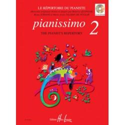 PIANISSIMO 2 LE REPERTOIRE DU PIANISTE EDITIONS LEMOINE