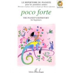 POCO FORTE LE REPERTOIRE DU PIANISTE EDITIONS LEMOINE