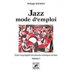 Jazz Mode d'emploi volume 1