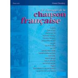 Les classiques de la chanson française piano MB443 le kiosque à musique Avignon