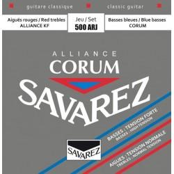 CORDES GUITARE SAVAREZ  ALLIANCE CORUM