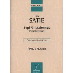 PARTITION SATIE GNOSSIENNES EDITIONS SALABERT SLB5749