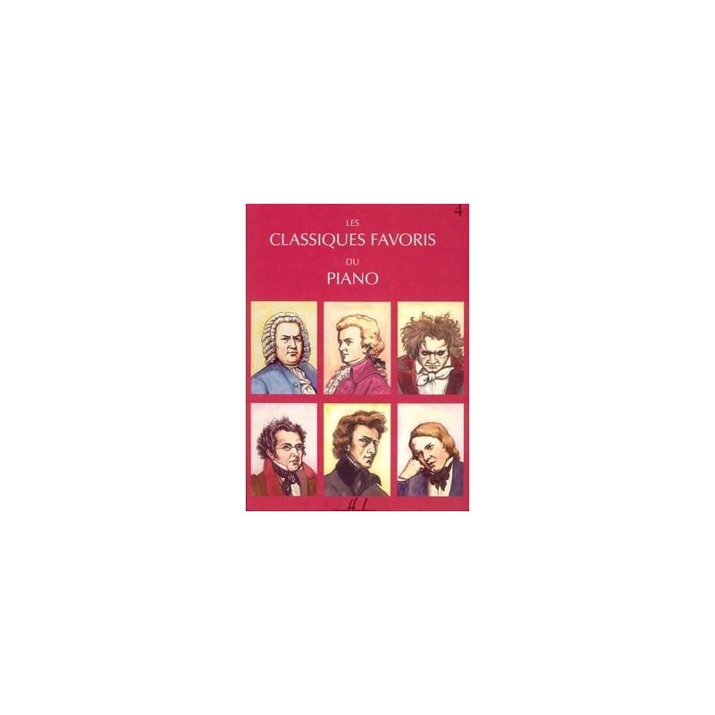 CLASSIQUES FAVORIS DU PIANO (LES) - 4 ...