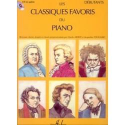 Partition les Classiques Favoris du piano débutants HL25498 le kiosque à musique avignon