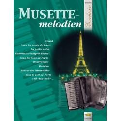 MUSETTEMELODIEN - EXCLUSIV - MUSETTE POUR ACCORDEON VHR1778