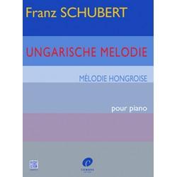 Partition piano Schubert mélodie hongroise C05573 le kiosque à musique Avignon