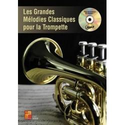 PARTITION VEIGA GRANDES MELODIES CLASSIQUES A LA TROMPETTE PLAY MUSIC