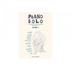 PARTITION PIANO SOLO VOLUME 1 CHANSONS FRANCAISES  AU PIANO