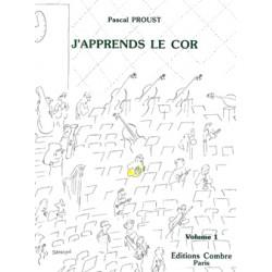PASCAL PROUST J'APPRENDS LE COR EDITIONS BILLAUDOT