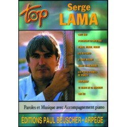 PARTITION SERGE LAMA TOP BEUSCHER