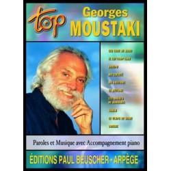 PARTITION GEORGES MOUSTAKI TOP BEUSCHER