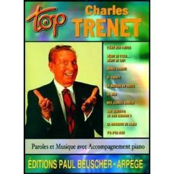 PARTITION CHARLES TRENET TOP BEUSCHER