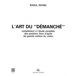 RAOUL DANIEL L'ART DU DEMANCHE VIOLON