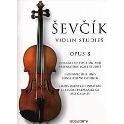 Sevcik Opus 8 pour violon BOE005163 le kiosque à musique Avignon
