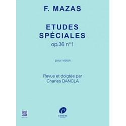 MAZAS ETUDES SPECIALES POUR VIOLON COMBRE