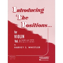 WHISTLER INTRODUCING THE POSITIONS VOLUME 1 VIOLON