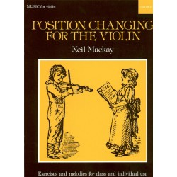 NEIL MACKAY POSITION CHANGING FOR THE VIOLIN